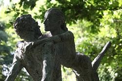 Jardins des sculptures de bois guilbert